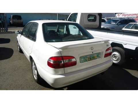 2001 Toyota Corolla Rxi Auto For Sale On Auto Trader South Africa