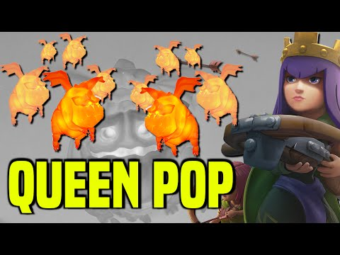 Clash of Clans   How To Perform The Queen POP Attack   3 Star Strategy Guide