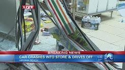 Car hits 7-Eleven in Va. Beach