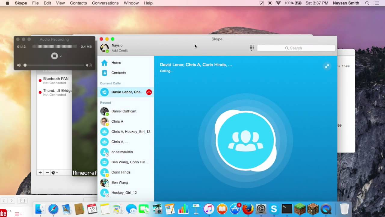 How to Record Skype Video Calls to Interview Guests Using Skype, Call  Recorder and ScreenFlow - Продолжительность: 23:47 SoyJimmy 46 181 просмотр.How to record calls on Skype for a video podcast side by side 1080p HD with Evaer Licensed Version - Продолжительность: 8:28 Jerry...