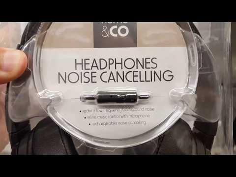$25 Kmart Noise Cancelling Headphones?!