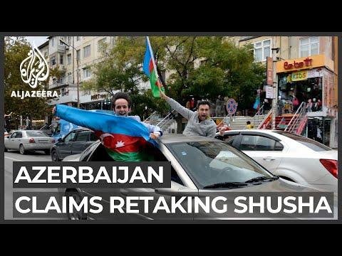 Nagorno-Karabakh conflict: Azerbaijan claims control of Shusha