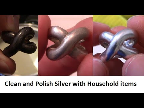 How to clean and polish silver with baking soda and toothpaste