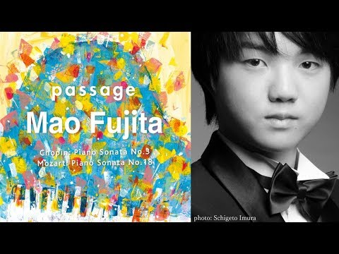 【PV】ピアニスト藤田真央・3rdアルバム「passage」~2018年5月23日リリース【第16回チャイコフスキー国際コンクール第2位獲得】