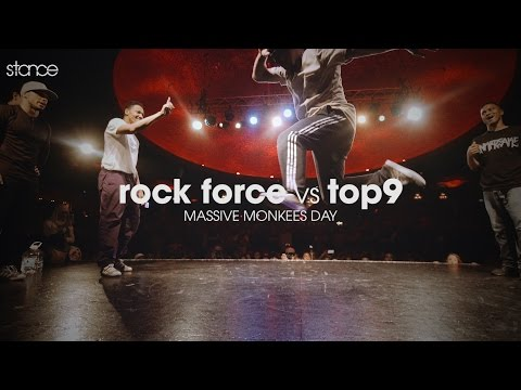 Rock Force vs Top9 // .stance // Massive Monkees Day 2016