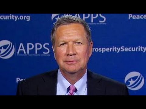John Kasich shares his foreign policy