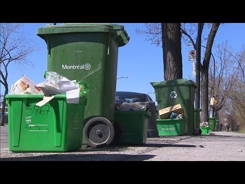 Recyclage à Montréal : une habitude bien ancrée