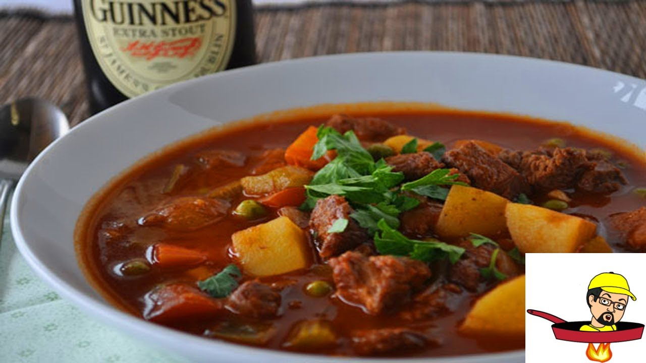 Irish Stout Beef Stew - ST. PATRICK'S DAY - YouTube