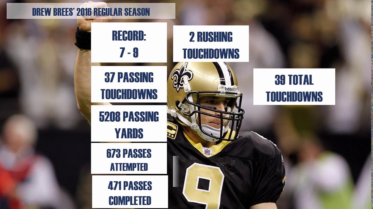 Drew Brees Stats
