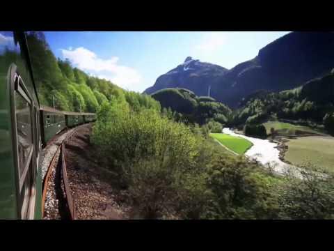 Beroemde treinreizen Noorwegen: Bergen-, Rauma- & Flåmbaan
