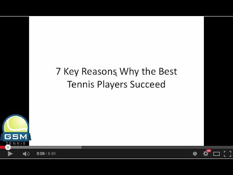 7 Ways to be a Successful Tennis Player
