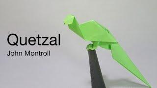 Origami Bird Quetzal