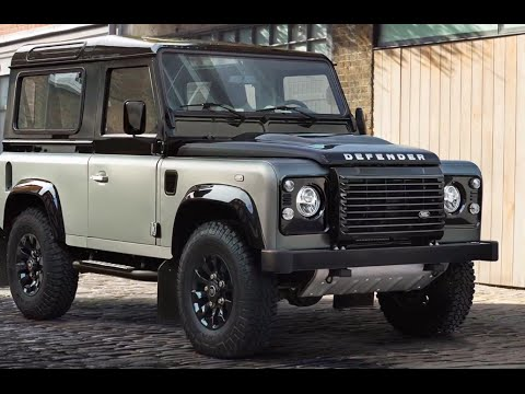 Land Rover Defender AUTOBIOGRAPHY Final Limited Edition 2015 Land Rover Defender Interior CARJAM TV - YouTube