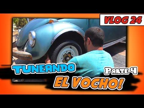 TUNEANDO EL VOCHO! pt.4 - Vlog#24 [JohannTV]