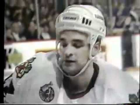 Chicago Blackhawks 1992-93 Season Video Part 3