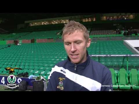 Inverness Richie Foran League Cup Final post match interview