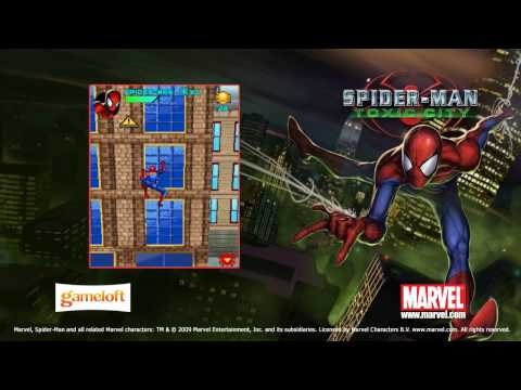Spider-Man: Toxic City HD Mobile Game Trailer