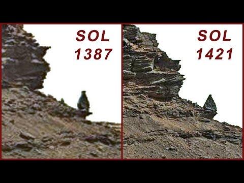 Curiosity Sol 1421 photos (HD 1080p) - Mars August 5 2016 Part Two