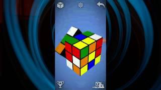 वर्चुअल रूबिक क्यूब को 46.60 सेकेंड में हल करना | मैजिक क्यूब पहेली 3डी screenshot 4