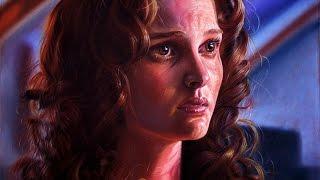 Drawing Natalie Portman (star wars padme amidala)
