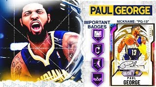 GALAXY OPAL PAUL GEORGE GAMEPLAY! EVERYTHING ABOUT HIM IS PERFECT! NBA 2k20 MyTEAM