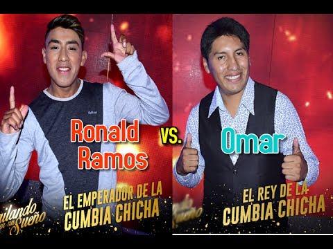 """Ronald Ramos el """"Emperador de la cumbia Chicha"""" frente a Omar el """"Rey"""""""