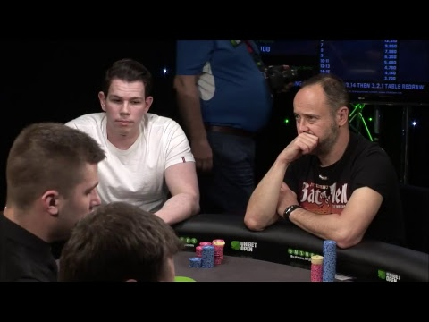 Main event Day 2. Unibet Open London 2018