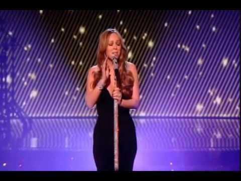 Mariah Carey LIVE 2009 at the X Factor singing I Want to Know What Love Is NEW