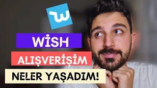 Wish Alışverişim / Wish Alışveriş nasıl yapılır / Wish Güvenilir mi ? SON VİDEO screenshot 2