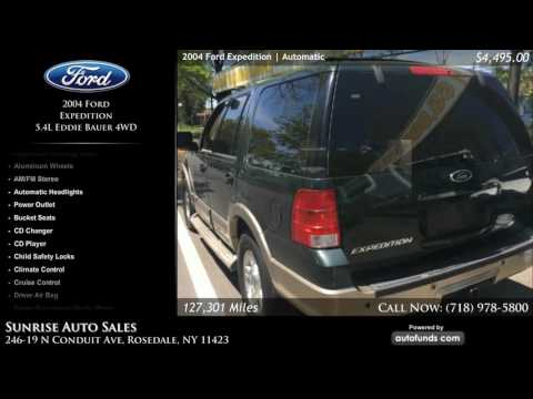 Used 2004 Ford Expedition | Sunrise Auto Sales, Rosedale, NY