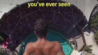 The most amazing dive