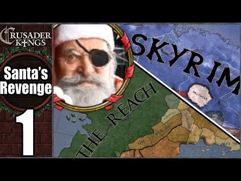 CK2: Santa's Revenge #1 - Westeros To Tamriel! (Series A)