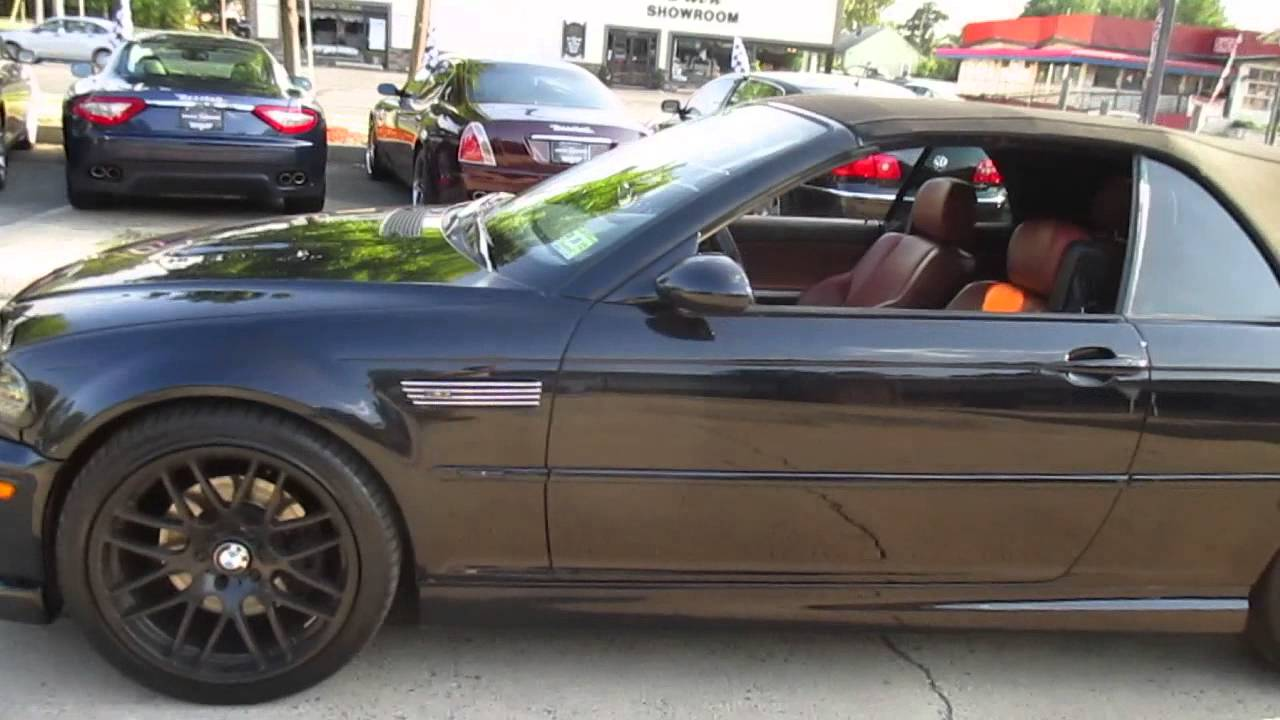 2004 BMW M3 CONVERTIBLE  YouTube