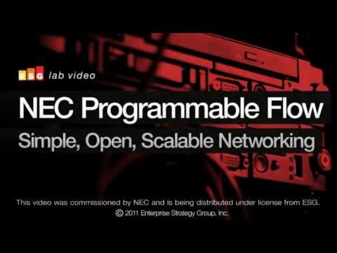 ESG Reviews and Validates NEC ProgrammableFlow, the first OpenFlow based Fabric