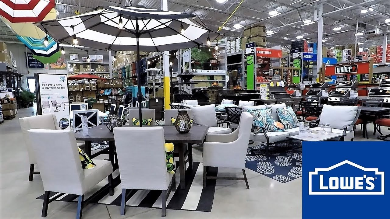 LOWES OUTDOOR PATIO FURNITURE HOME DECOR SPRING SUMMER ...