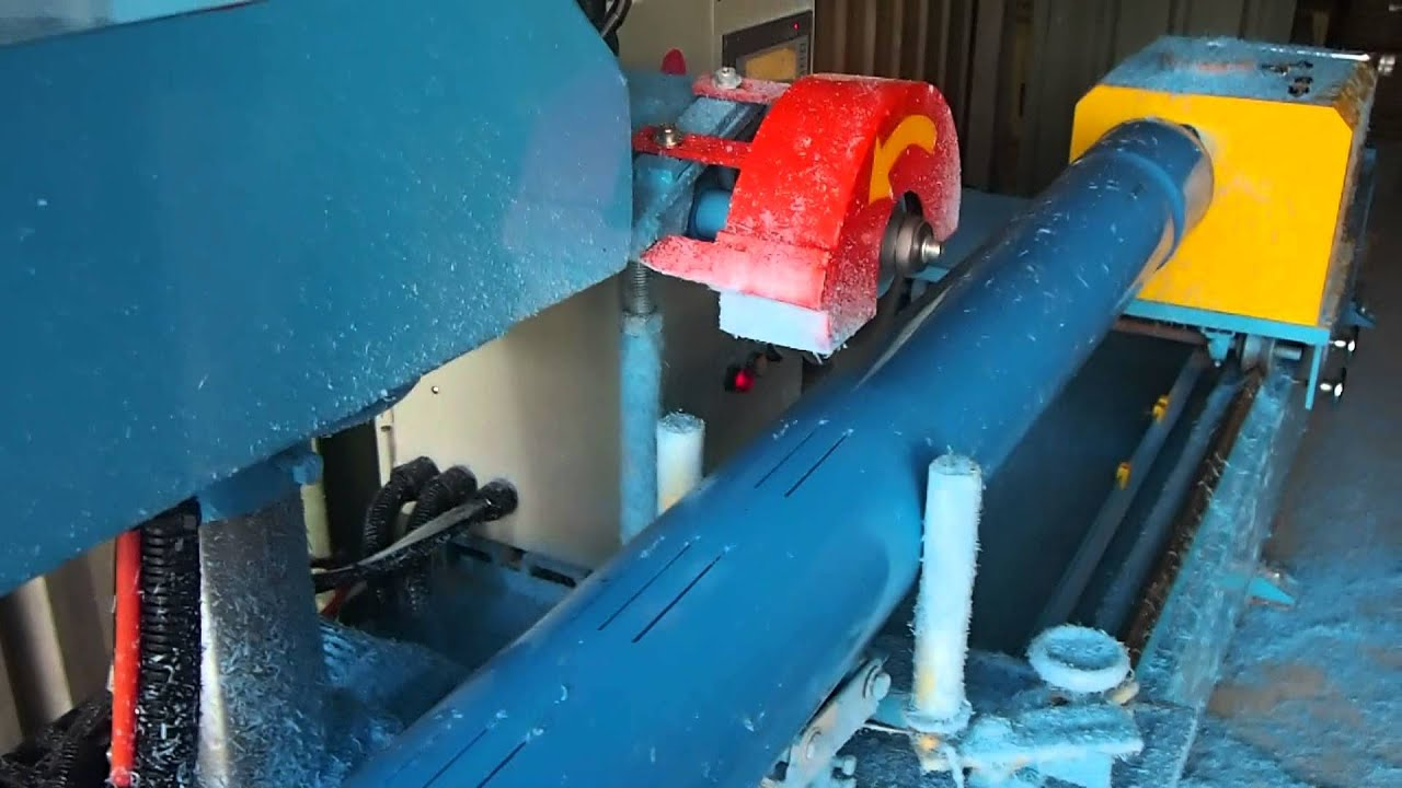 PVC PIPE FOR SLOTTING CUTTING MACHINE AUTOMATICALLY - YouTube