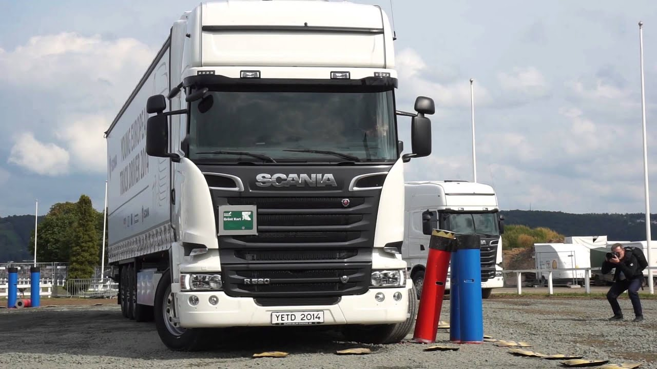 how to drive scania truck