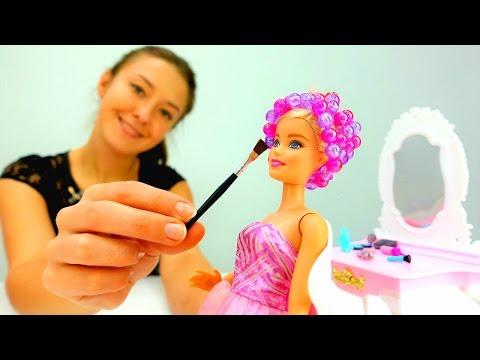 Барби и #ОДЕВАЛКИ: свидание с Кеном. Игры для девочек и супер Барби мультфильмы