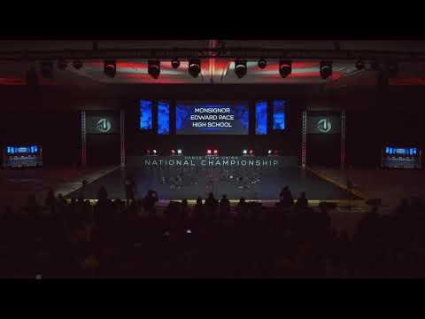 2019 DTU Nationals Finals Small Varsity Hip Hop Monsignor Edward Pace High School