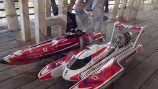 RC BOATS RACING
