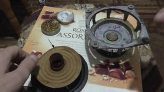 Ремонт НЧ динаміка/ Speaker repair частина 5