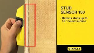 Detector Metais Madeira Canos Stanley S-150