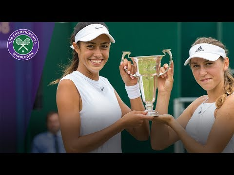 Olga Danilovic & Kaja Juvan win Wimbledon 2017 girls' doubles title