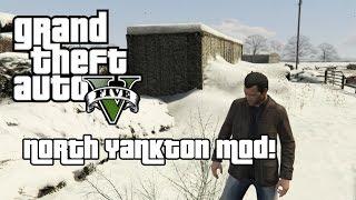 Grand Theft Auto 5 PC Mod - North Yankton Mod Gameplay (Download In Description!)