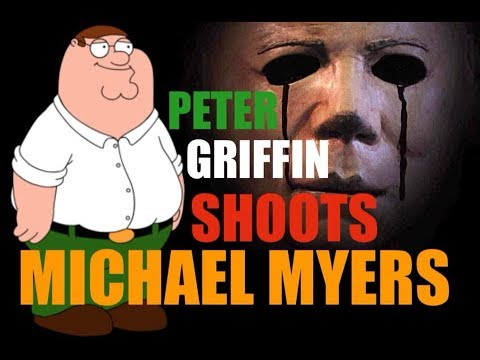 30 DAYS OF HALLOWEEN - Peter Griffin Shoots Michael Myers (LOL) 🎃👻