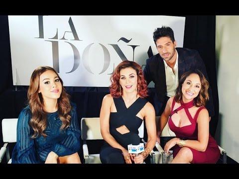 Entrevista con Aracely Arambula, Danna Paola y David Chocarro en Suelta La Sopa