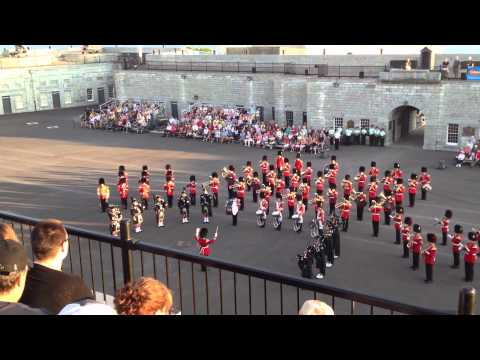 Band of the Ceremonial Guard - 2012 Fort Henry Tattoo: Snow on Schiehallion