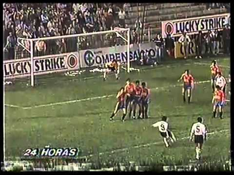 1991 U.Española 1 Colo Colo 5 Torneo Nacional (4 goles de Rubén Martínez)