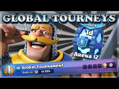 New Update with GLOBAL TOURNAMENTS & More! | | Clash Royale