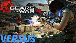 Gears of War 4 - Versus Multiplayer Gameplay PC [1440P 60FPS ULTRA SETTINGS]